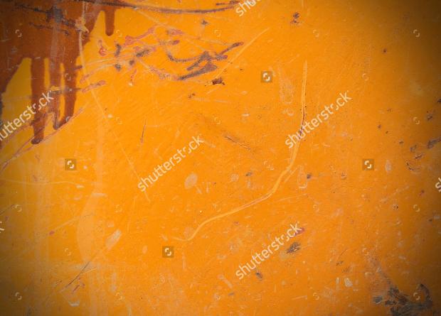 Orange Rust Metal Texture