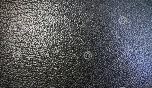 black leather orange peel texture
