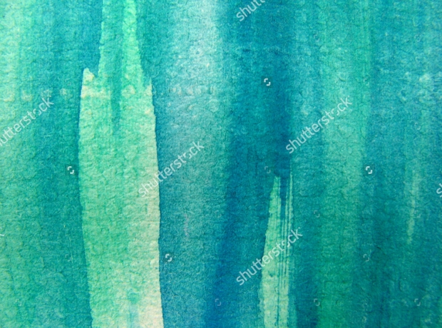 turquoise watercolor texture