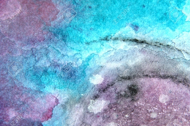 blue and pink watercolor texture