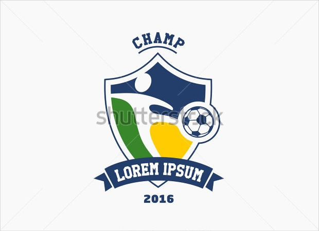 Football Cup Logo Design
