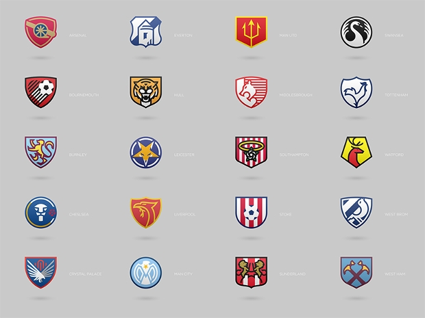 Football Club Logo Collection