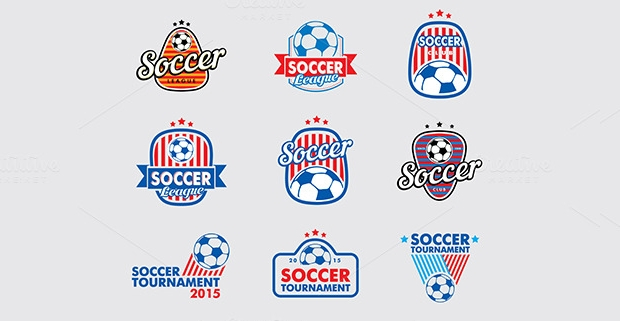 Soccer Vector Logo Collection