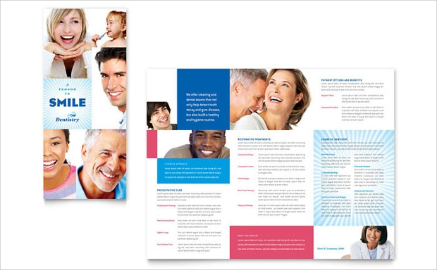 family dentistry brochure