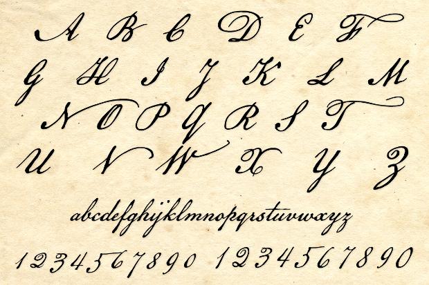 American Scribe Patriotic Font