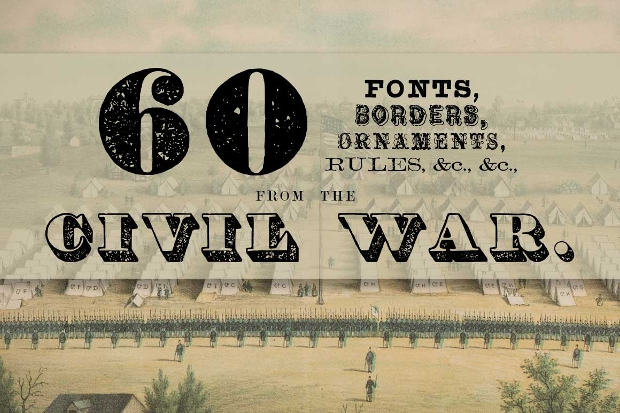 Civil War Era Fonts