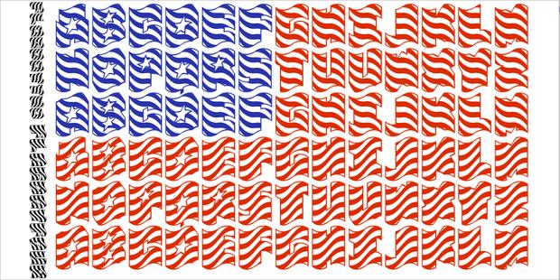 Flagday Patriotic Font
