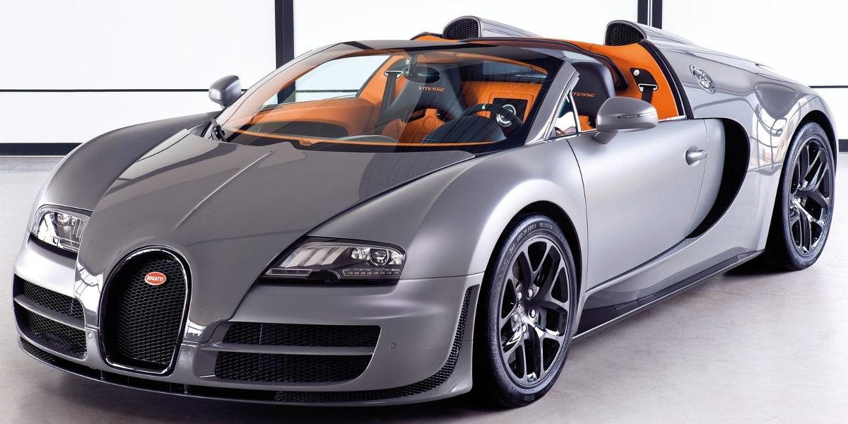 Bugatti Chiron silver