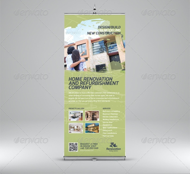 Home Renovation Business Banner