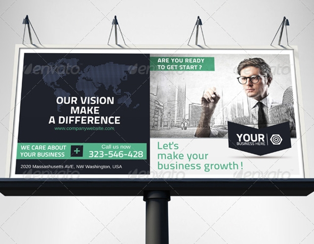 Business Advertising Outdoor Banner