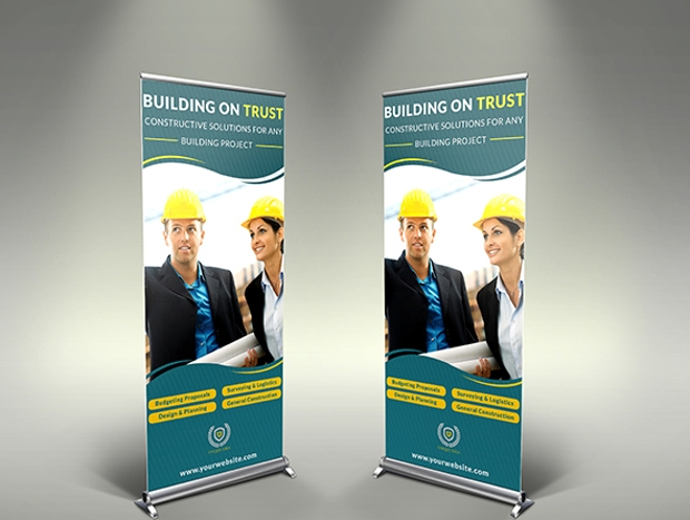 Construction Business Rollup Banner