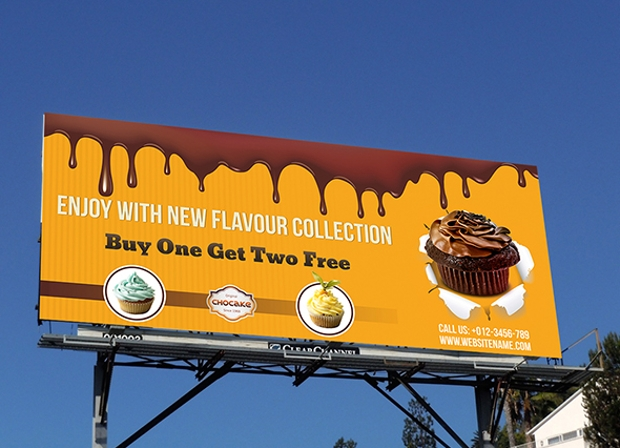Cake Business Billboard Banner Template