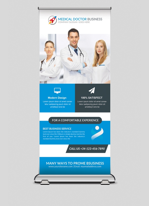 Medical Business Banner Design