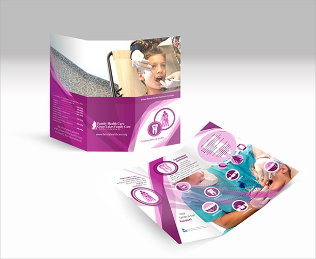 dental outreach service brochure