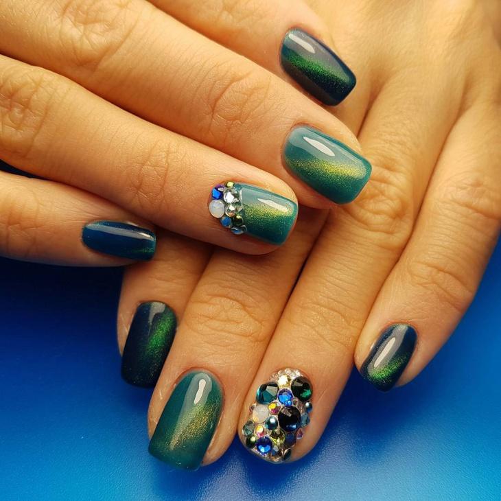 Summer Gel Nail Design