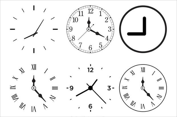 20 Clock Vectors Eps Png Jpg Svg Format Download