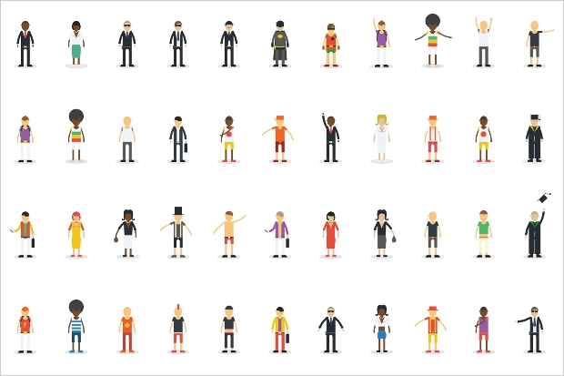 Character Vector Illustrations