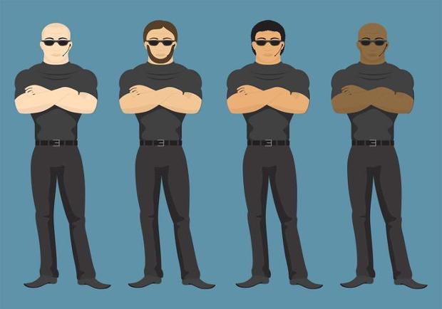 body guard vectors