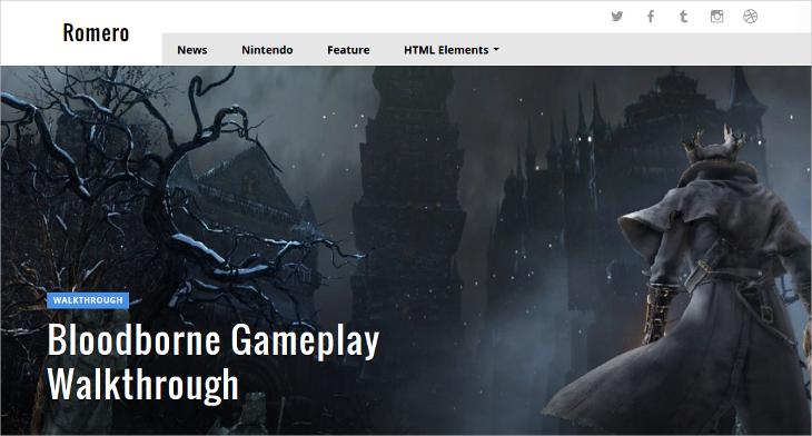 19+ Gaming WordPress Themes & Templates | Design Trends - Premium ...