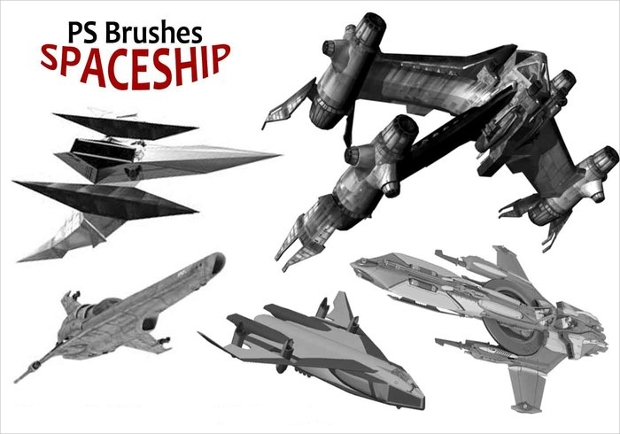 spaceship brushes