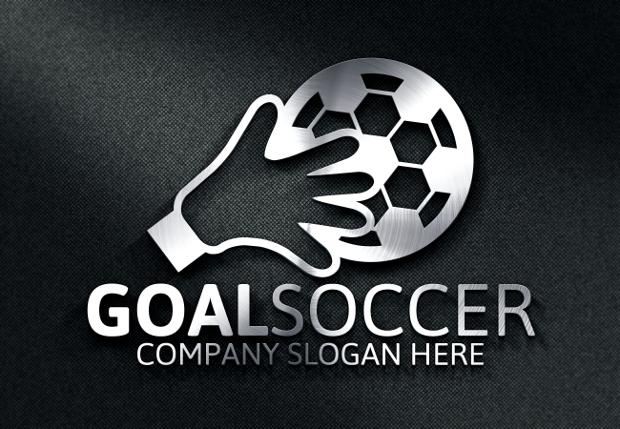Goal Soccer Logo Design