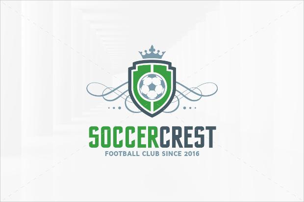 Soccer Crest Logo