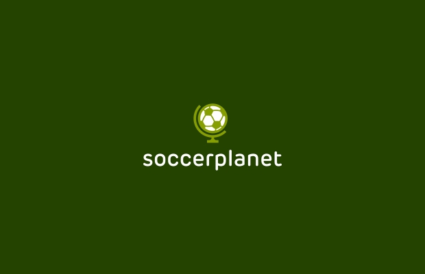soccer planet logo design