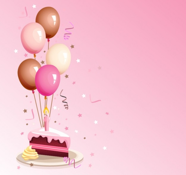 birthday cartoon vector