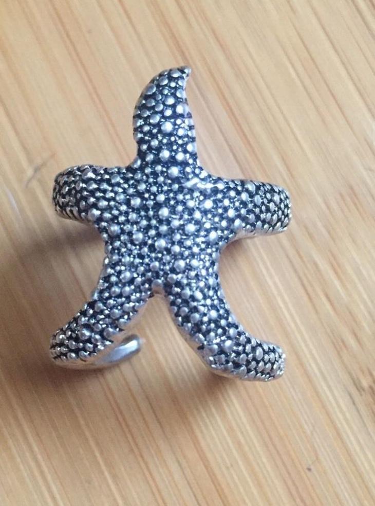 starfish wrap around ring