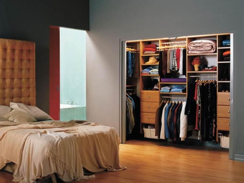 bedroom closet idea