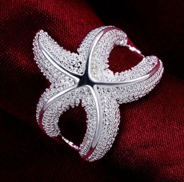 starfish wedding ring