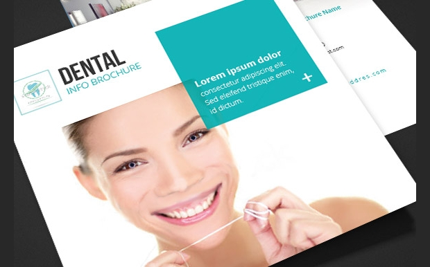 dental hospital square brochure