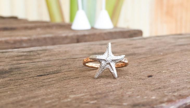 starfish hawaiian ring