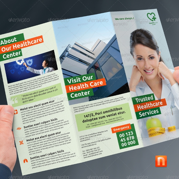 Hospital Brochures  Free Psd Ai Indesign Vector Eps Format