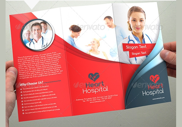 multipurpose heart hospital brochure