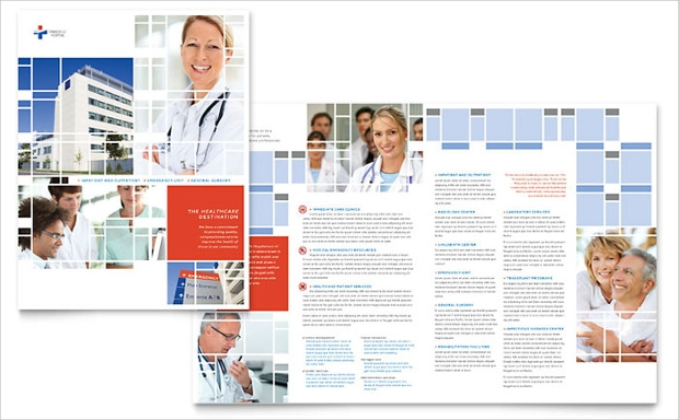 high resolution hospital brochure
