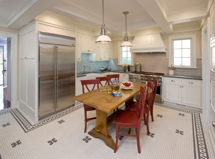 mosaic flooring kitchen1