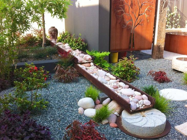 japanese sunken herbs garden
