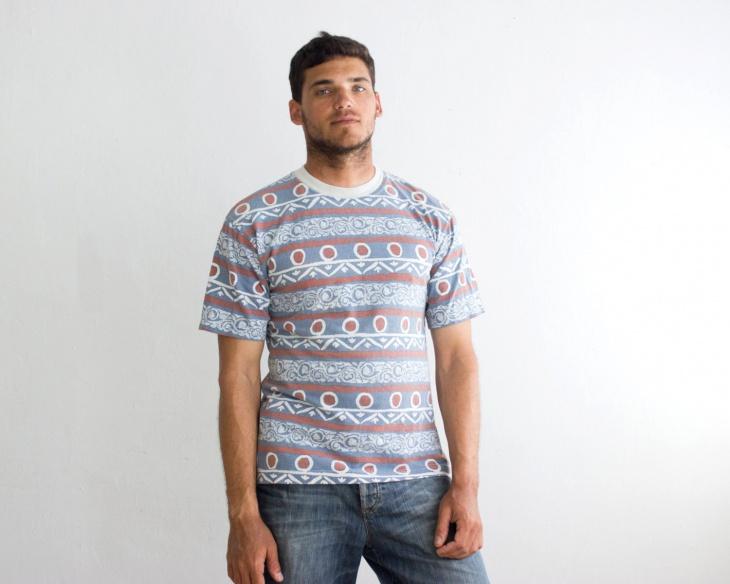 Vintage Aztec T Shirt Design