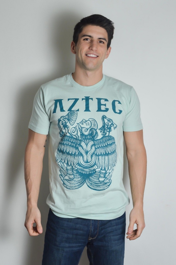 aztec graphic t shirt