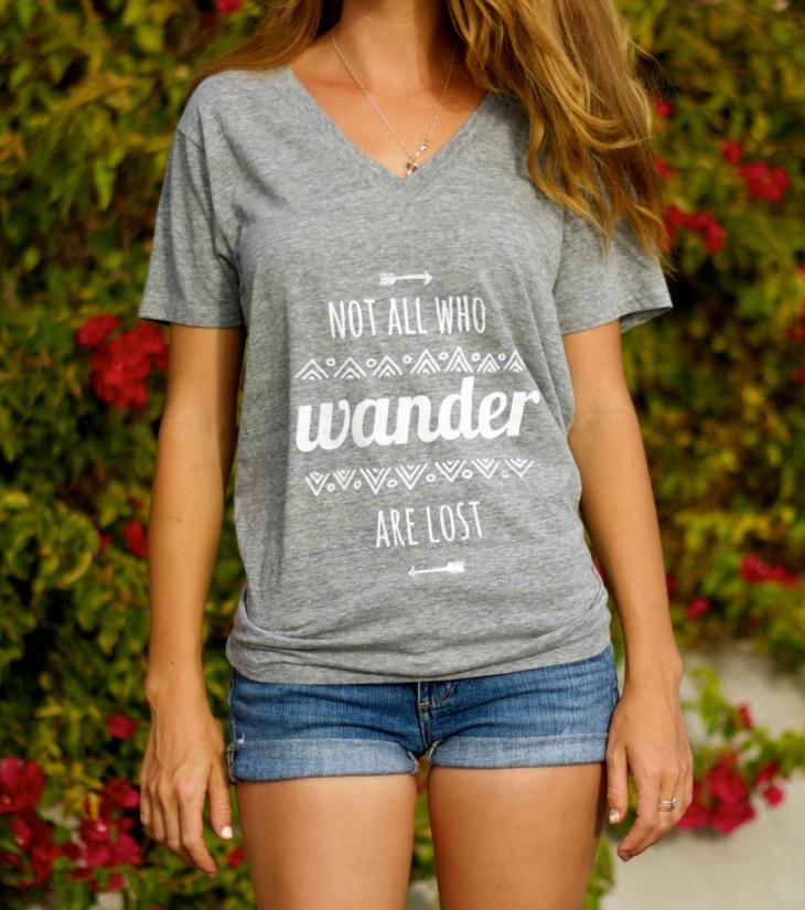 Hippie Arrow Aztec T Shirt