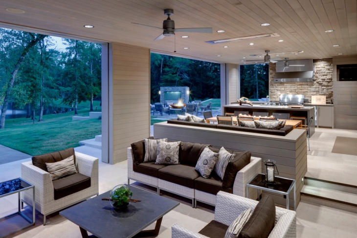 modern outdoor ceiling design
