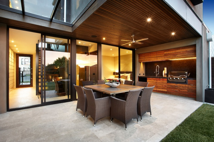 wooden outdoor ceilings