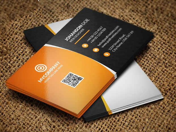 68 business card free printable psd eps word format download psd corporate business card reheart Images