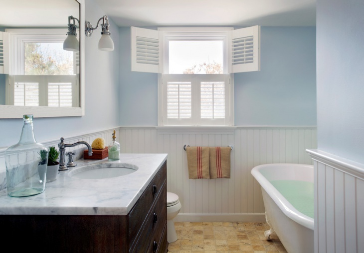 Bathroom Design Ideas With Beadboard beadboard in bathroom – laptoptablets