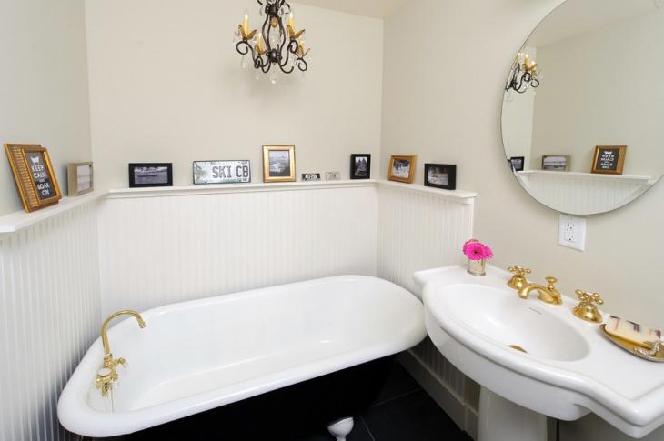 classic beadboard bathroom