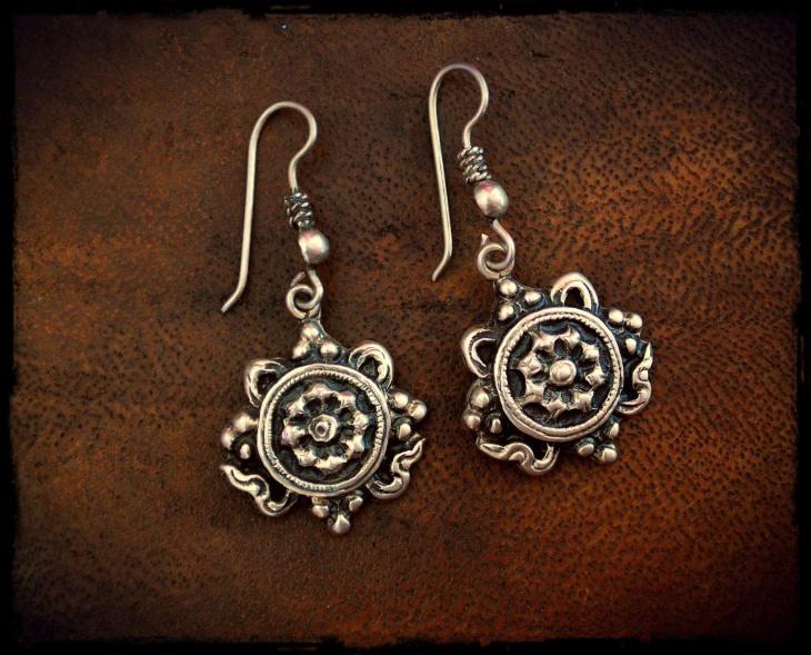 Vintage Mandala Earrings