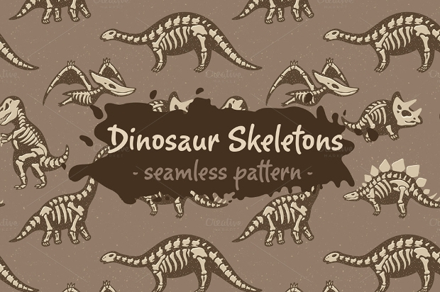 printable dinosaur skeleton template - 18 dinosaur patterns free psd png vector eps format