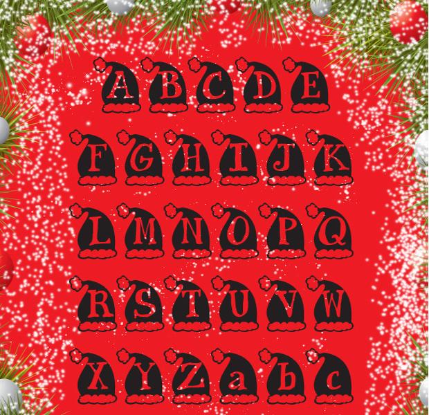 Holiday Cap Font