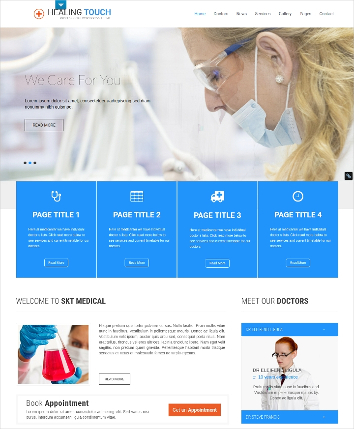 Medical Healing WordPress Theme